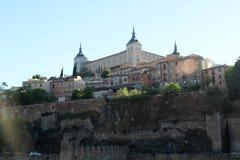 Der Alcazar von Toledo, Spanien Stockfotografie