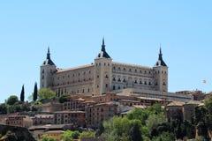 Der Alcazar von Toledo, Spanien Stockbild