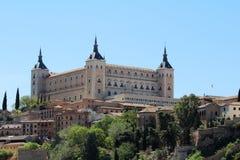 Der Alcazar von Toledo, Spanien Stockbilder