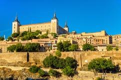 Der Alcazar von Toledo, UNESCO-Bauerbe in Spanien Lizenzfreies Stockbild