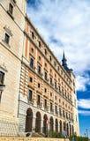 Der Alcazar von Toledo, UNESCO-Bauerbe in Spanien Lizenzfreie Stockfotografie