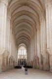 Der Alcobaca-Klosterinnenraum Lizenzfreie Stockbilder