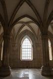 Der Alcobaca-Klosterinnenraum Lizenzfreies Stockbild