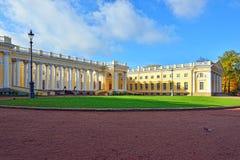 Der Alexander-Palast in Pushkin, Herbstlandschaft Stockfoto