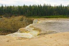 Der Alexandra-Wasserfall in den Nordwest-Territorien Lizenzfreies Stockbild
