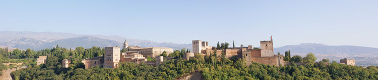 Der Alhambra Stockfotografie
