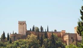 Der Alhambra Lizenzfreies Stockfoto