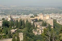 Der Alhambra in Granada Stockfoto