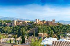 Der Alhambra, Granada, Spanien Lizenzfreie Stockfotografie