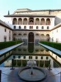 Der Alhambra in Granada, Spanien Lizenzfreies Stockbild
