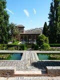Der Alhambra in Granada, Spanien Stockbilder