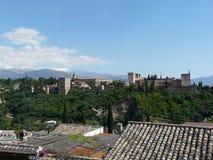 Der Alhambra in Granada, Spanien Lizenzfreie Stockfotografie