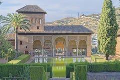 Der alhambra-Palast Stockbilder