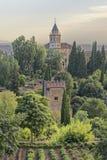 Der alhambra-Palast Lizenzfreie Stockfotografie