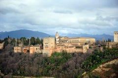 Der Alhambra-Palast, Granada, Spanien Stockbild