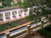 Der Alhambra-Palast in Granada Stockfotos