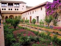Der Alhambra-Palast in Granada Lizenzfreie Stockfotos
