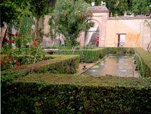 Der Alhambra-Palast in Granada Stockfoto