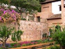 Der Alhambra-Palast in Granada Lizenzfreie Stockfotografie
