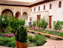 Der Alhambra-Palast in Granada Lizenzfreie Stockbilder