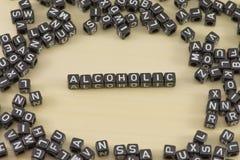 Der Alkoholiker Stockfotografie