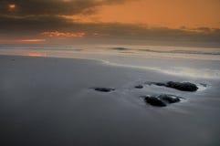 Der alleine Strand in Teneriffa, Kanarische Inseln. Lizenzfreies Stockfoto