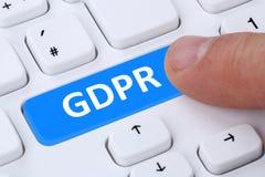 Der allgemeine Daten-Schutz-Regelung E GDPR websit der Europäischen Gemeinschaft. - Stockfotos