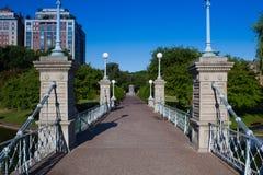 Der allgemeine Garten in Boston Stockfotos