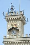 Der allgemeine Palast auf Borgo Maggiore Lizenzfreies Stockbild