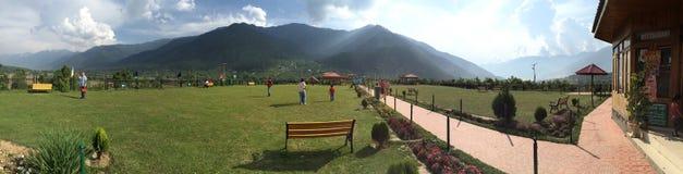 Der allgemeine Park Siddique an Kangan-Stadt, Kaschmir, Indien Lizenzfreie Stockfotos