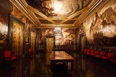 Der allgemeine Raum in Cityhall von Barcelona Stockbild
