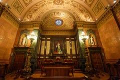 Der allgemeine Raum in Cityhall von Barcelona Stockfoto