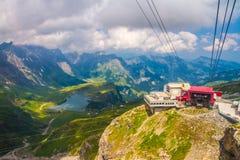 Der Alpen-Berg Stockfoto