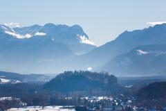 Der alpine Morgen Lizenzfreies Stockbild