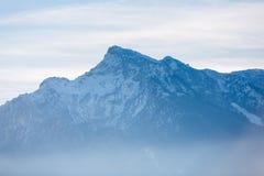 Der alpine Morgen Stockfotografie