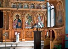 Der Altar in der Basilika von St Stephen in Jerusalem Lizenzfreie Stockfotografie