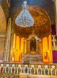 Der Altar der Kathedrale Lizenzfreie Stockfotos