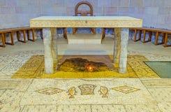 Der Altar der Vermehrungs-Kirche Lizenzfreies Stockbild