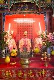 Der Altar in einem Tempel Stockfoto
