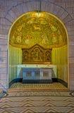 Der Altar mit Mosaiken Lizenzfreie Stockbilder