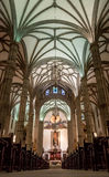 Der Altar und die Halle von St. Ana Cathedral Stockfotografie