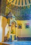 Der Altar von Johannes der Baptist in Etchmiadzin-Kathedrale Stockbilder
