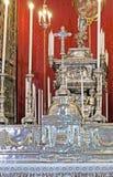 Der Altar von St. Rosalia Chapel Stockfotografie