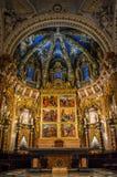 Der Altar von Valencia Cathedral, Valencia, Spanien Lizenzfreie Stockfotos