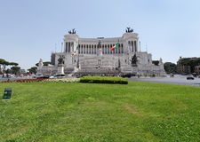 Der Altare Della Patria in Rom Stockbild