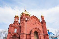 Der Altbau der Russisch-Orthodoxen Kirche Stockfoto