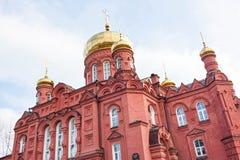 Der Altbau der Russisch-Orthodoxen Kirche Lizenzfreie Stockbilder