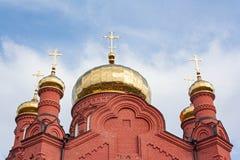 Der Altbau der Russisch-Orthodoxen Kirche Lizenzfreie Stockfotografie