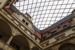 Der Altbau der Stadt Dresden, Deutschland Lizenzfreies Stockbild