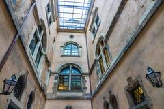 Der Altbau der Stadt Dresden, Deutschland Lizenzfreie Stockfotos